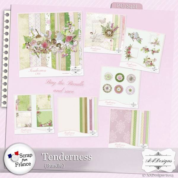 "Tenderness from AADesigns at From France available on a 40% off Sale! Don't miss to ""subscribe to the designer"" to follow all the releases of your favorite designer (click on the left button ...near ""add to cart""). Tenderness; http://scrapfromfrance.fr/shop/index.php?main_page=advanced_search_result&keyword=Tenderness&search_in_description=1&categories_id=&inc_subcat=1&manufacturers_id=76&pfrom=&pto=&dfrom=dd%2Fmm%2Fyyyy&dto=dd%2Fmm%2Fyyyy&x=25&y=11. 09/28/2015"