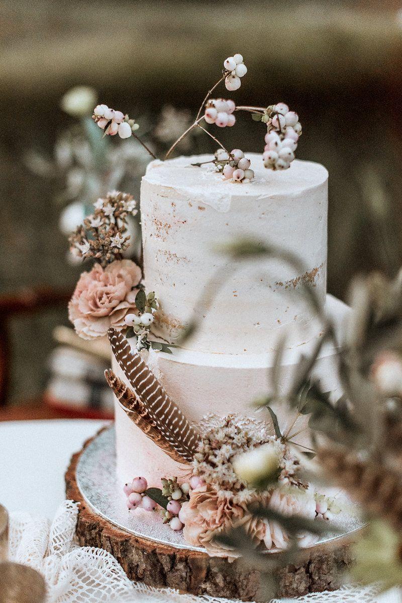 Labude Bridal Inspiration Weddingcake Hochzeitstorte Naked Cake