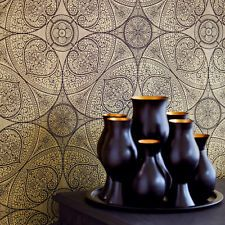 orientalisches Mandala gold Eijffinger Yasmin Orient Tapete Vliestapete 341759