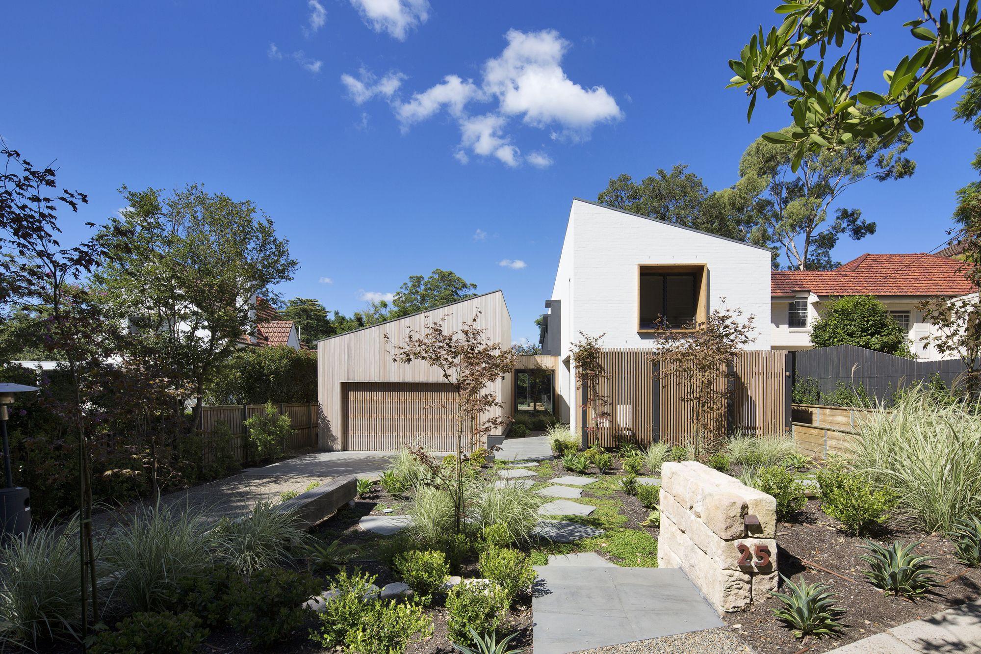 Garden House James Design Studio Contemporary Garden Australian Architecture Home And Garden