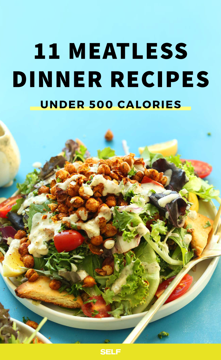 11 High Protein Meatless Dinners Under 500 Calories Vegetarian Recipes Under 500 Calories High Protein Vegetarian Recipes Dinners Under 500 Calories