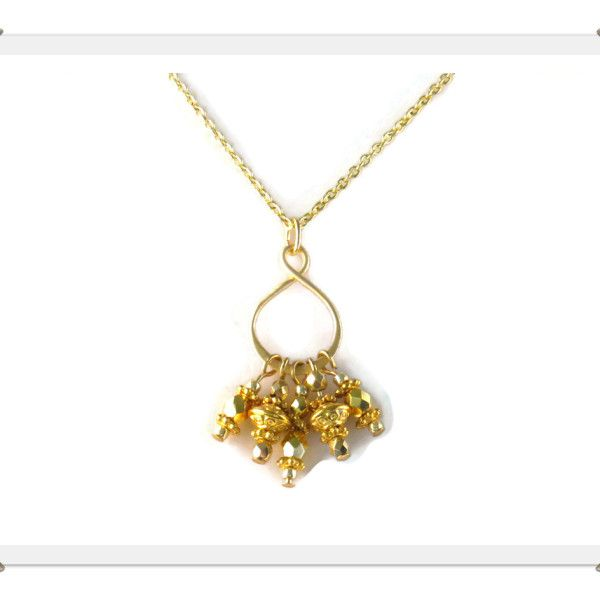 Whitney - gold filled and vermeil necklace