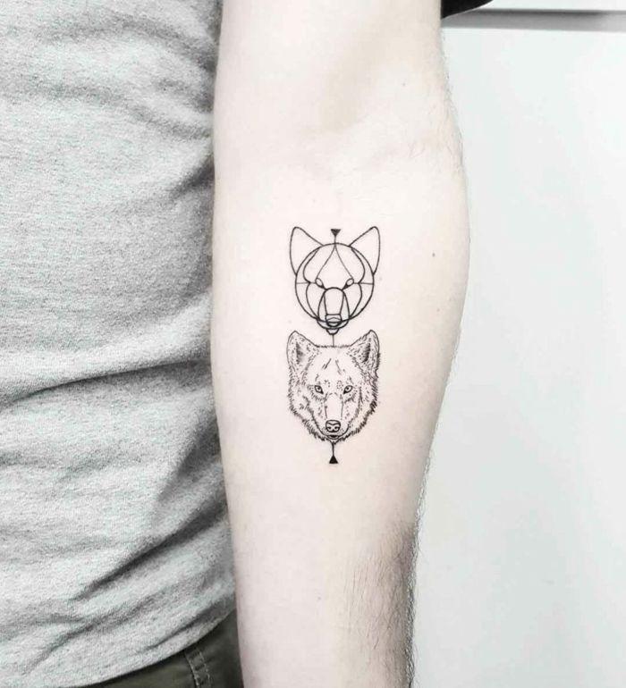 1001 Ideas Diseños Originales De Tatuajes Geométricos Diseño