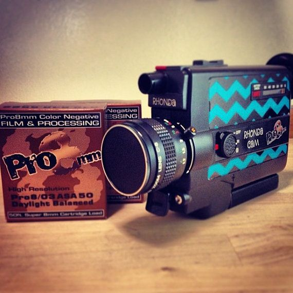 Vintage rebuilt Super 8mm Film Camera The Rhonda CAM by