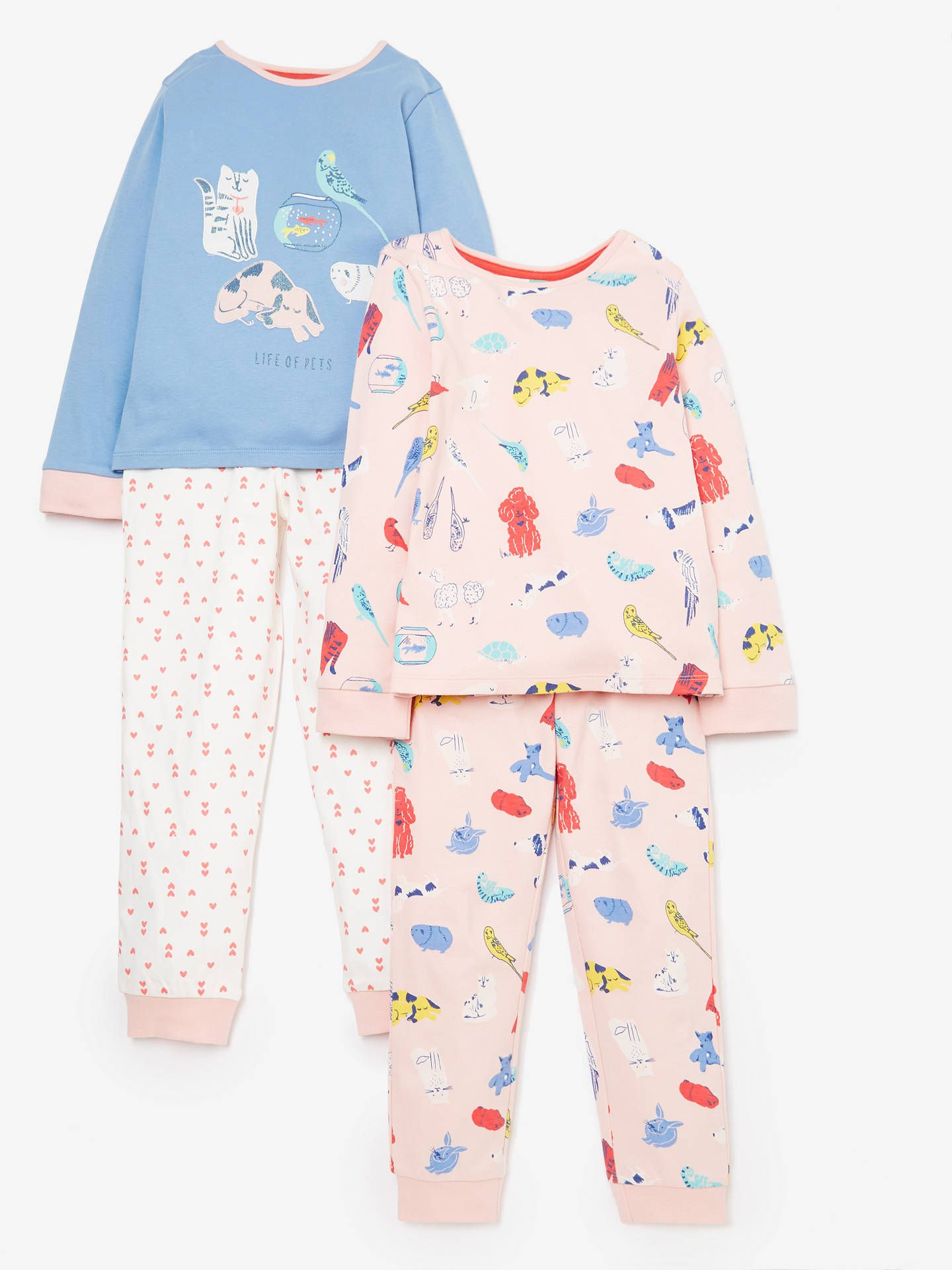 6b35bcffd8 BuyJohn Lewis   Partners Girls  Pet Print Pyjamas