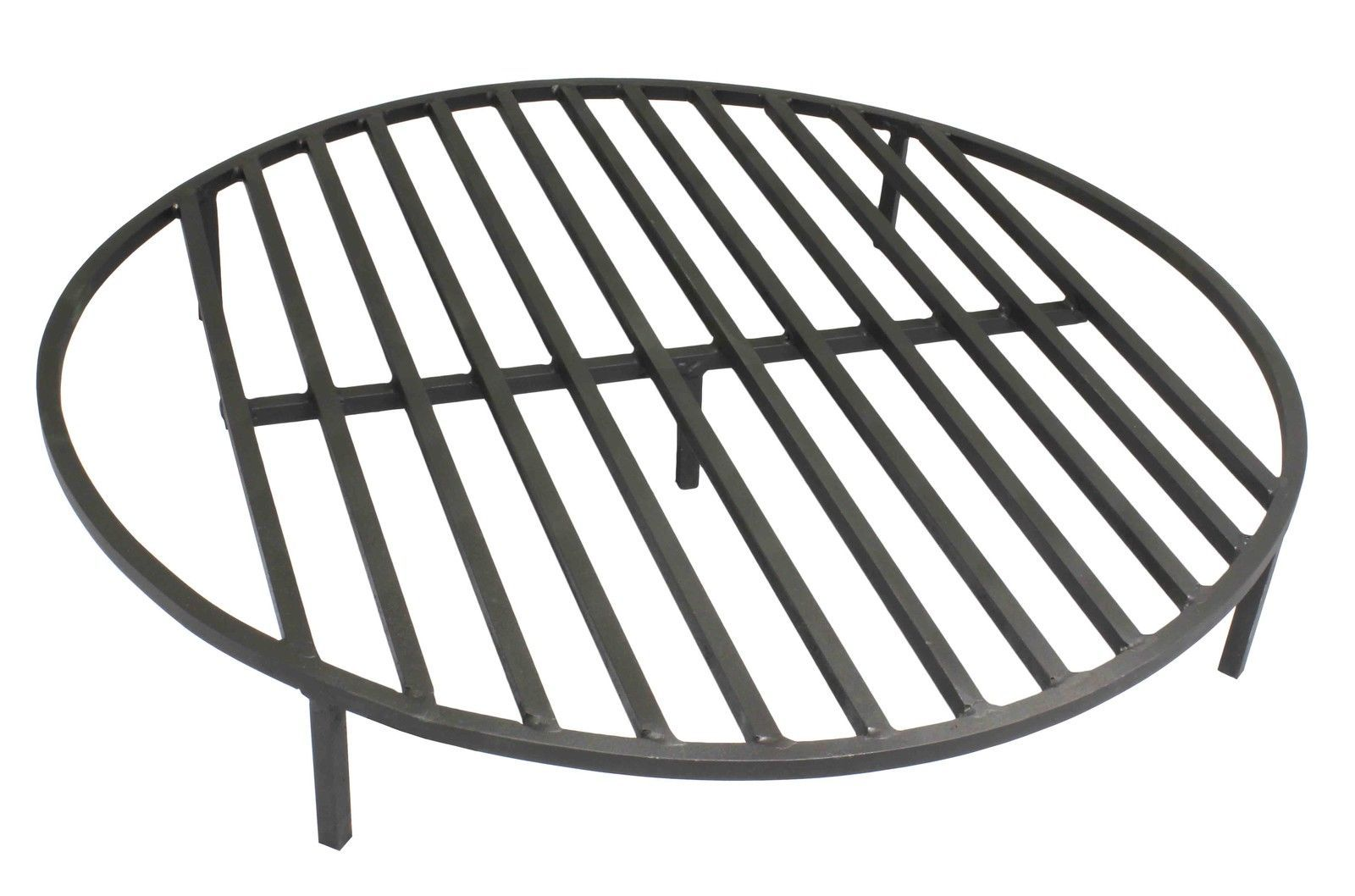 Round Fire Pit Grate 30 Heavy Duty Grill Cooking Campfire Camp Ring 1 2 Steel Fire Pit Grill Grate Fire Pit Cooking Fire Pit Grate