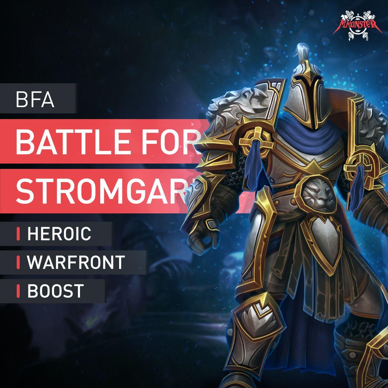 Battle For Stromgarde Heroic Warfront Boost Schlacht Ebay