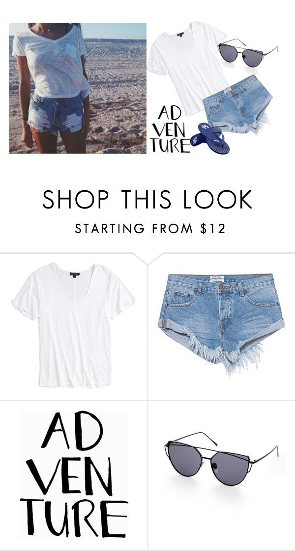 """""""Summer Time"""" by classy-mademoiselle ❤ liked on Polyvore featuring Topshop, One Teaspoon and Forever Collectibles"""