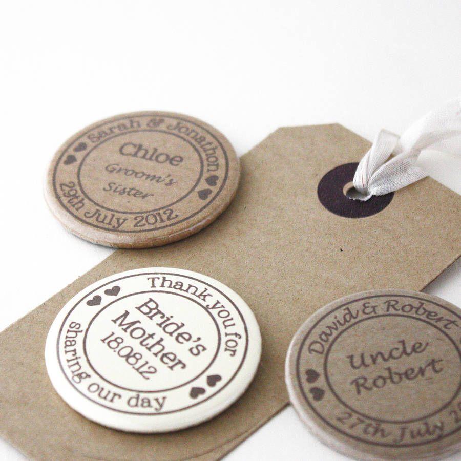 Personalised Special Occasion Name Badge Anstecker Hochzeit Hochzeitsanstecker Traumhochzeit