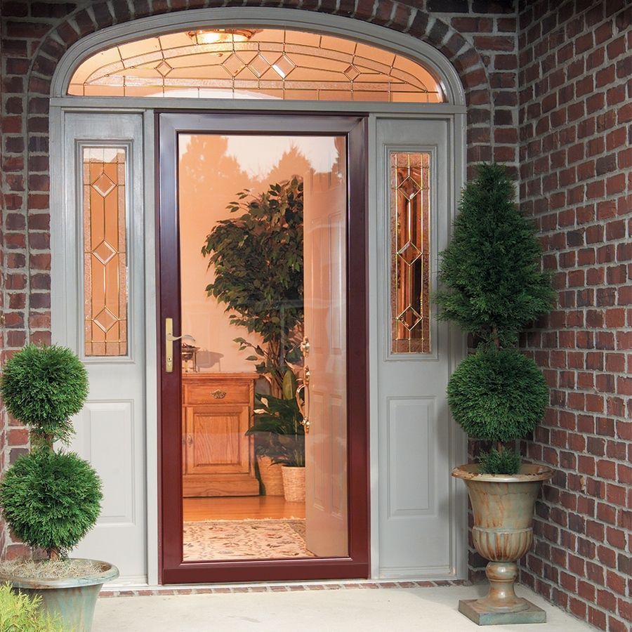 Security Glass Storm Door Images - Doors Design Ideas