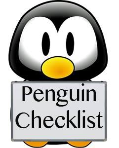 Google Penguin and Panda Checklist