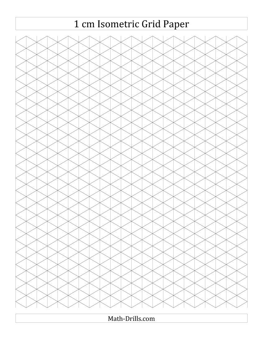 Printable Isometric Paper   Graphically Typed
