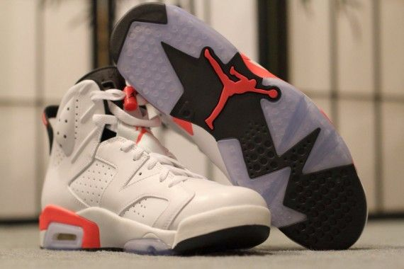 huge discount 53246 4edc3 Air Jordan 6 Retro – White – Infrared | Shoes Shoes Must I ...