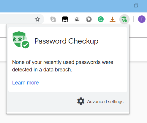 Google Password Checkup Chrome Extension Helps Secure Accounts Checkup Safe Internet Cryptography