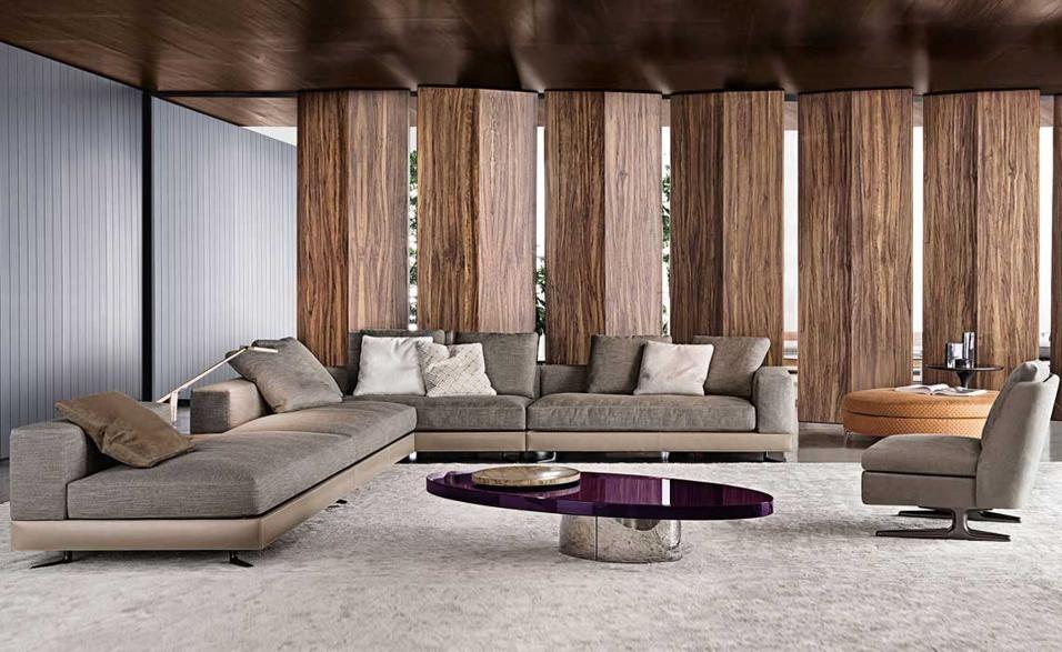 Divano divisorio ~ Minotti idee casa pinterest divani soggiorno e arredamento