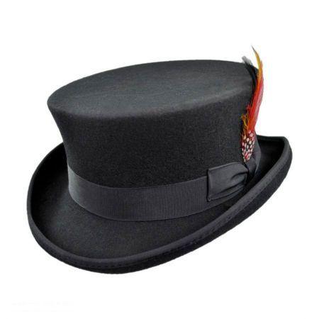 960707dd30a Jaxon Hats Deadman Wool Felt Top Hat