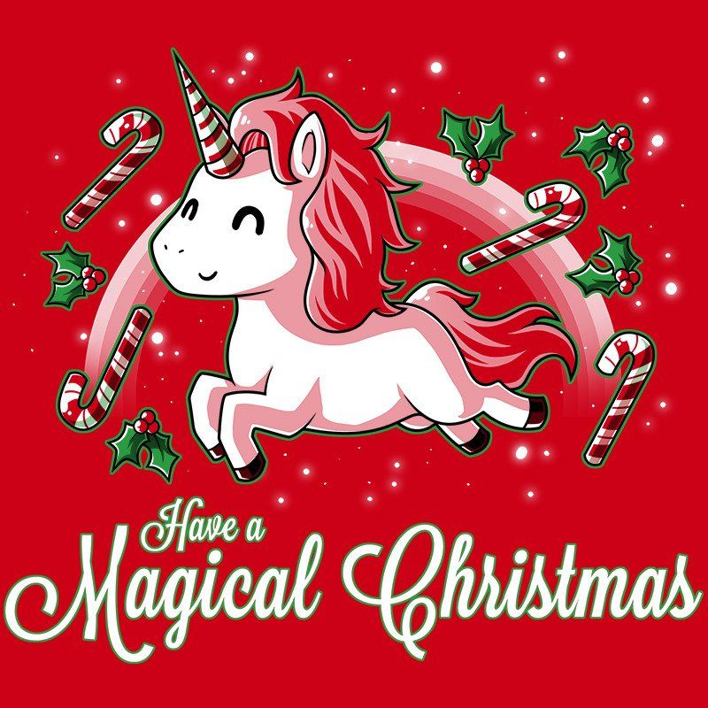 Want Want Want Magical Christmas Unicorn Pictures Unicorn Wallpaper