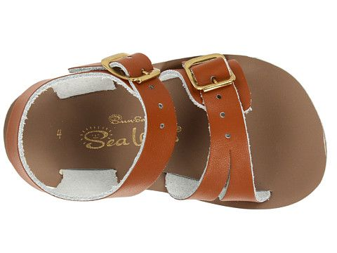 35094e1e68d6 Salt Water Sandal by Hoy Shoes Sun-San - Sea Wees (Infant Toddler) Brown -  Zappos.com Free Shipping BOTH Ways