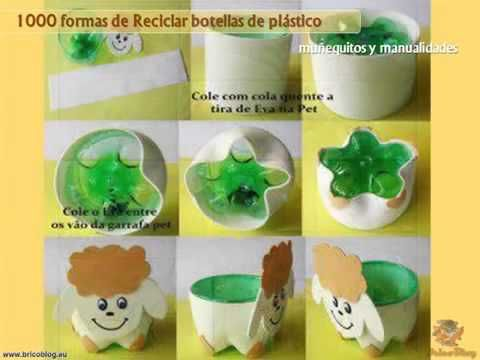 ideas creativas para reciclar botellas de plastico y
