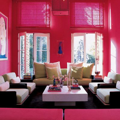 Living Rooms | Recent Photos The Commons Getty Collection Galleries World Map App ... | Pink Living Room, Pink Living Room Decor, Red Apartment Living Room
