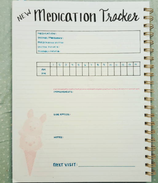 20+ Simple Ways to Track Your Mental Health with a Bullet Journal #mentalhealthjournal