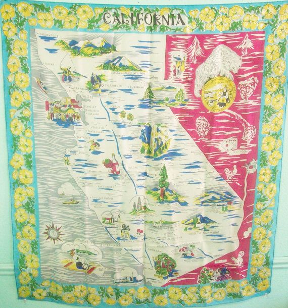 Vintage 50s 60s California Tourist Map Attraction Head Wrap ... on morton botanical garden palm springs, map of greater palm springs, google map of palm springs, street map of palm springs, map of california and palm springs, celebrities living in palm springs, map of california cities palm springs, map of california showing palm springs, good neighborhoods in palm springs, map of cities around palm springs, i-10 palm springs, downtown palm springs, united states map with palm springs, famous people in palm springs, map of southern california palm springs, best shopping in palm springs, map of hotels in palm springs, map stars homes palm springs,