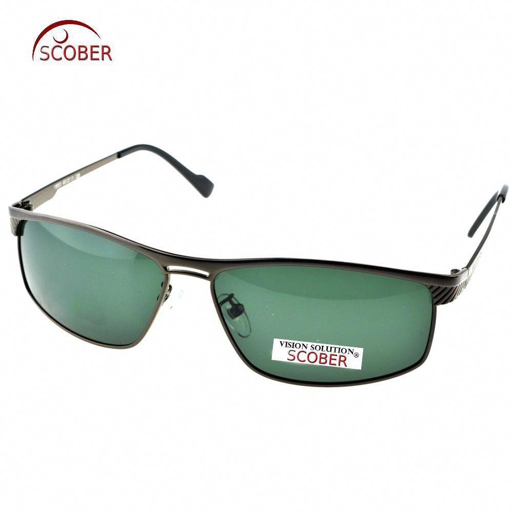 c03cb12314 SCOBER   2017 HANDSOME FULL RIM GREY TAC Enhanced Polarization polarized  square green lenses driving fishing sunglasses Riding glasses