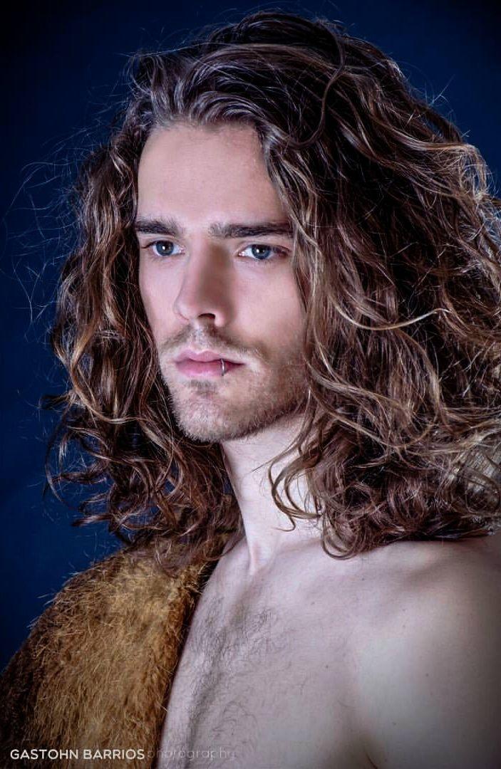 Long Hair Gay With Long Tube