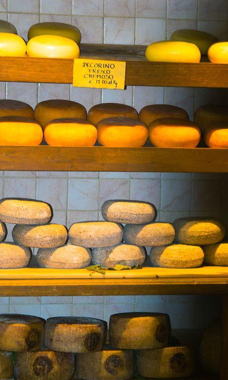 Pecorino Cheese, Pienza Italy