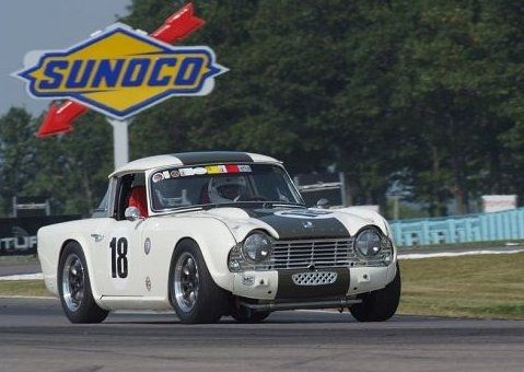 Triumph Surrey Top Vintage Race Car Vintage Race Cars