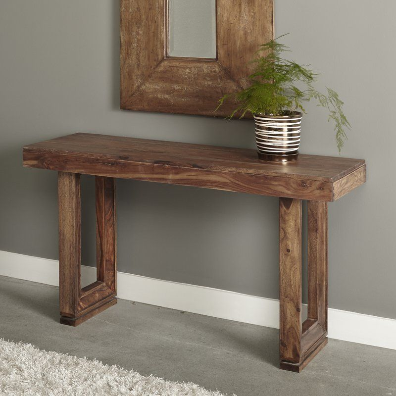 Anheuser Console Table Rustic Console Tables Rustic Consoles