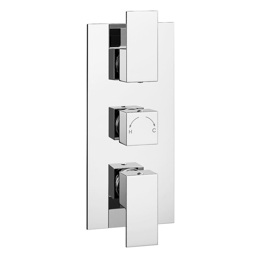 Summit Concealed Thermostatic Triple Shower Valve | Pinterest ...