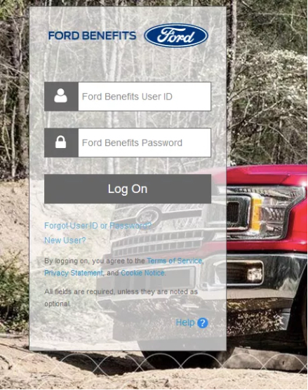 Myfordpay My Ford Pay Online Login Change Password Online Login Ford Company Ford Employee