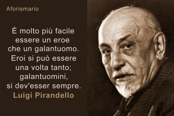 Luigi Pirandello Le Piu Belle Frasi Pirandelliane Citazioni