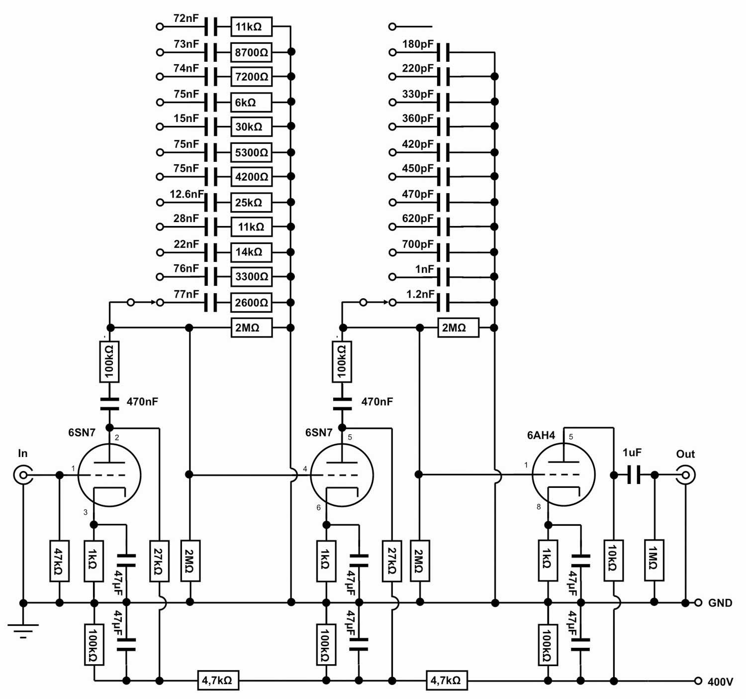 B Preamp Schematic