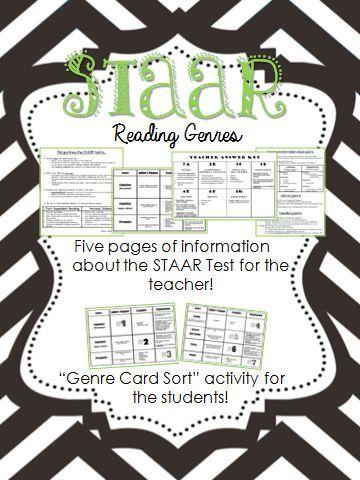 Staar Reading Genres Reading Pinterest Reading Genres Reading