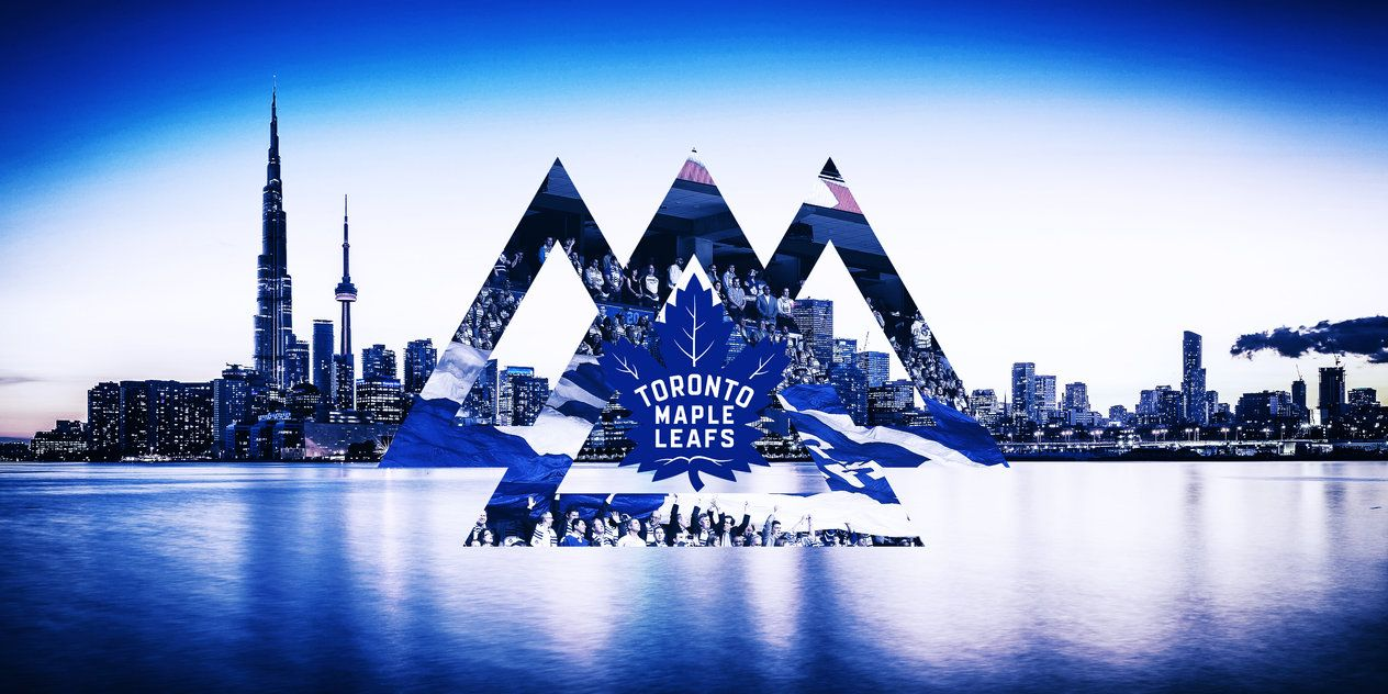 A Polyscape Wallpaper Of The Toronto Maple Leafs All Pictures Used In This Design Are Not Mine A Toronto Maple Leafs Wallpaper Maple Leafs Toronto Maple Leafs