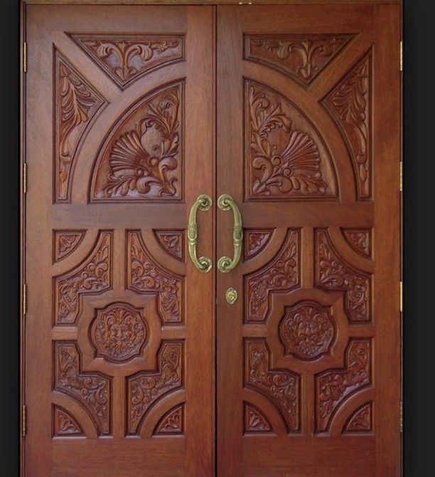 Wooden door design google search doors pinterest for Wood door design latest