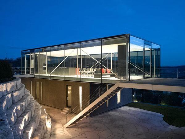 werner sobek h 16 house houses pinterest architektur und h uschen. Black Bedroom Furniture Sets. Home Design Ideas