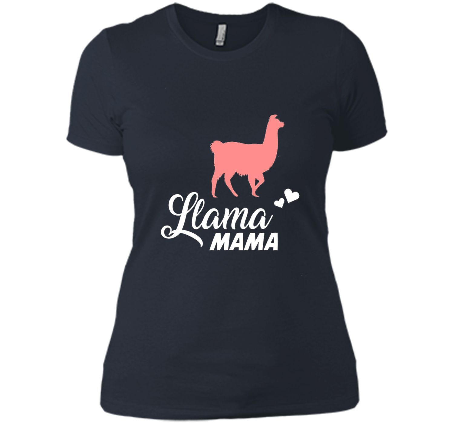 FUNNY LLAMA MAMA T-SHIRT Pet Farm Animal Lover Gift cool shirt ...