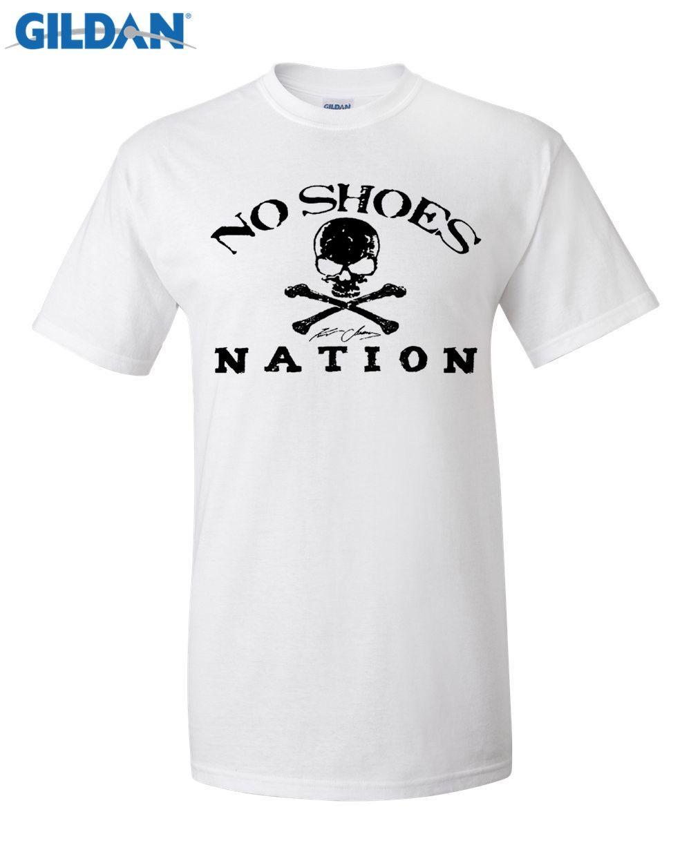 Gildan Designer T Shirt Cheap Summer T Shirt Kenny Chesney No Shoes