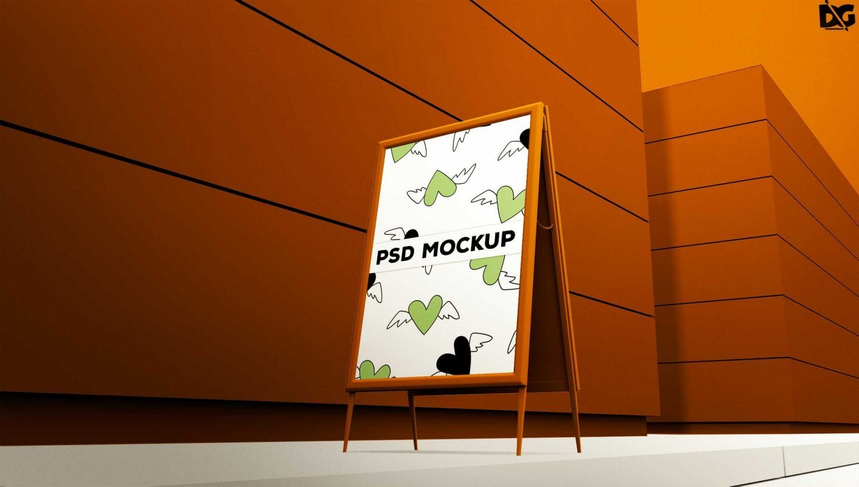Free Table Tent Premium Mockup Mockup Free Psd Free Logo Mockup Psd Template Free