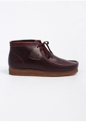 020098c21837da Clarks Originals Wallabee Boot- Burgundy | Men's Style in 2019 ...