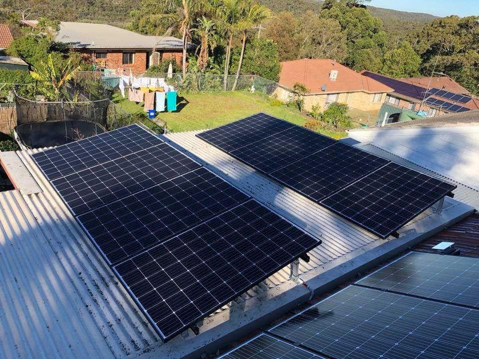 8kW Solar with Tesla Powerwall in Cowan NSW Solar panels