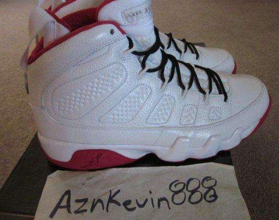 61a969b3d4662f Young Air Jordan IX Boys Shoe History of Flight Reflective White Crimson