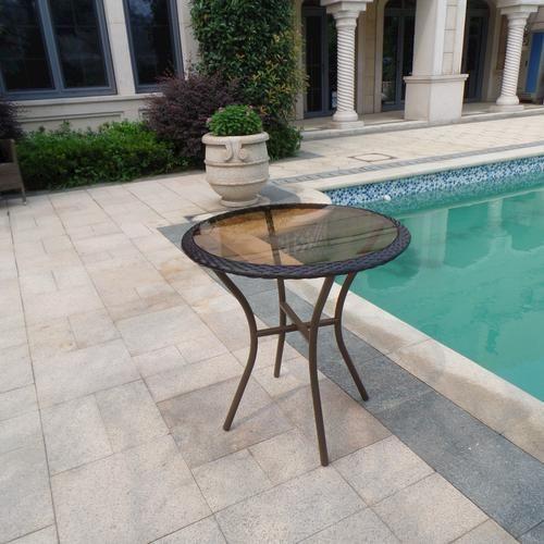 Backyard Creations® Monrovia Bistro Table at Menards - Backyard Creations® Monrovia Bistro Table At Menards Balcony
