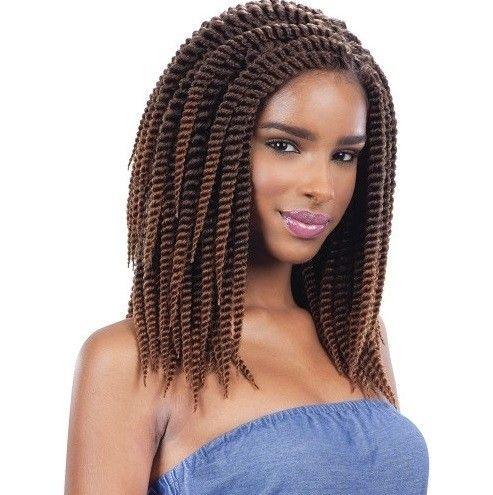 Shake N Go Que Crochet Braid 2x Jumbo Senegal Twist 10 Inch Cool