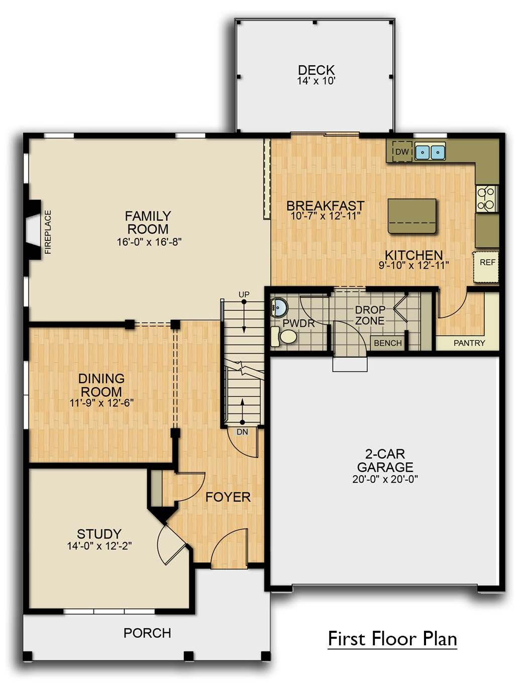 The Sienna floor plan by Garman Builders. First Floor ... on deck plans, ceiling plans, roof plans, houseboat plans, construction plans, garden plans, lighting plans, foundation plans, framing plans, basement plans, room plans, garage plans, apartment plans,