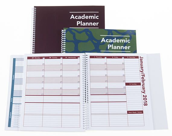2017-2018 Academic Planner A Tool For Time Management® Etsy Shop