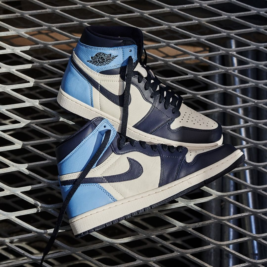 nike air jordan 1 retro high bleu